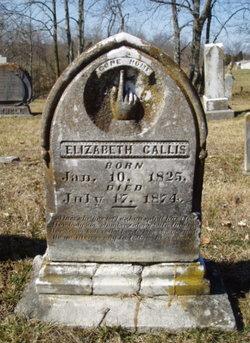 Elizabeth <i>Garrett</i> Callis
