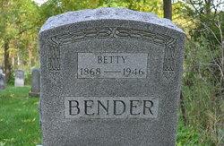 Elizabeth LaVina Betty Bender