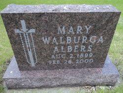 Mary Walburga Albers