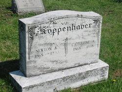 Catharine A Kate <i>Hawk</i> Koppenhaver