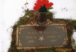 Alice May <i>Maynard</i> Wilson