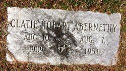 Clayton Hobert Clatie Abernethy
