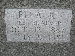 Ella K <i>Reinemer</i> Ambuehl