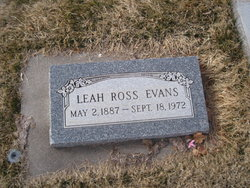 Leah <i>Ross</i> Evans