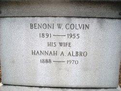 Benoni Wilkins Colvin