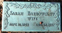 Sarah <i>Goldberg</i> Barrowcliff