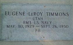 Eugene LeRoy Timmons