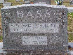 Mary G <i>Davis</i> Bass