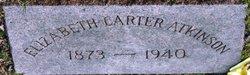 Elizabeth <i>Carter</i> Atkinson