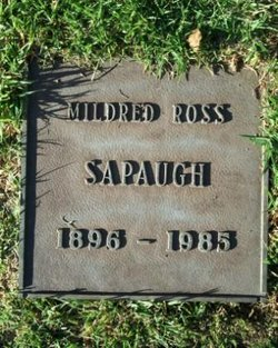 Mildred <i>Ross</i> Sapaugh