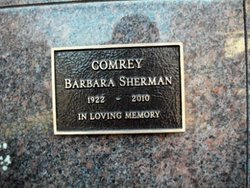 Barbara <i>Sherman</i> Comrey
