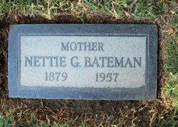 Nettie G Bateman