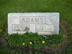 Eva L <i>Dutton</i> Adams