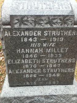 Hannah <i>Millet</i> Struthers