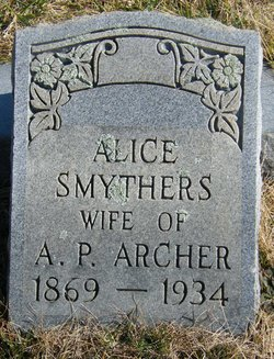Alice <i>Smythers</i> Archer