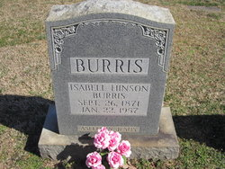 Isabell <i>Hinson</i> Burris