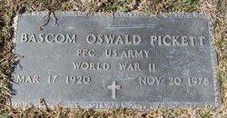 Bascom Oswald Pickett