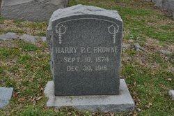 Harry P. C. Browne