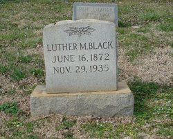 Luther M Black