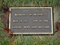 Winona Marie <i>Parker</i> Bennett