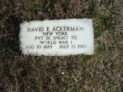 David Edward Ackerman