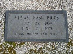 Miriam <i>Page</i> Biggs