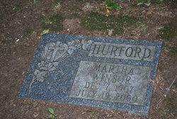 Martha Emeline <i>Winsor</i> Hurford
