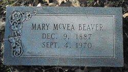 Mary <i>McVea</i> Beaver