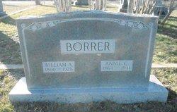 Annie C. <i>Burnside</i> Borrer