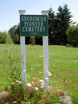 Snohomish Pioneer Cemetery