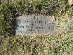 William Alfred Brown