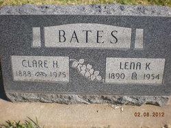 Lena K. <i>Crawford</i> Bates