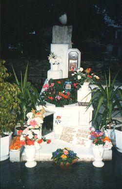 Aliki Vougiouklaki funeral