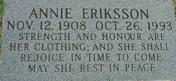 Annie Eriksson