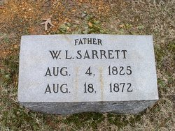 WASHINGTON LAFAYATTE SARRATT