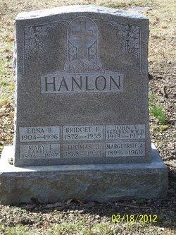 Bridget A Hanlon