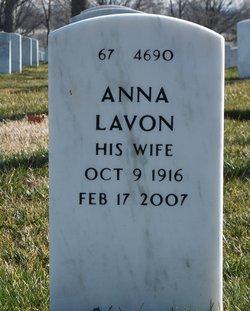 Anna Lavon <i>Lewis</i> Gentry