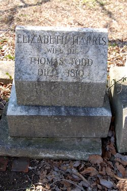 Elizabeth <i>Harris</i> Todd