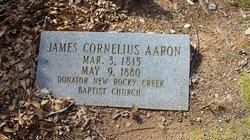 James Cornelius Aaron