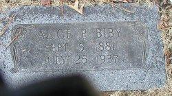 Alice R. Biby