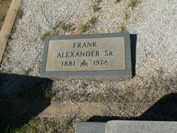 Frank Alexander, Sr