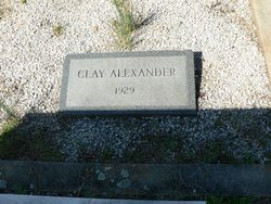 Clay Alexander