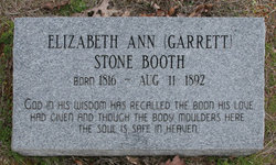 Elizabeth Ann Betsy <i>Garrett</i> Booth