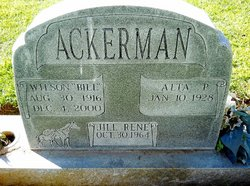 Wilson N. Bill Ackerman