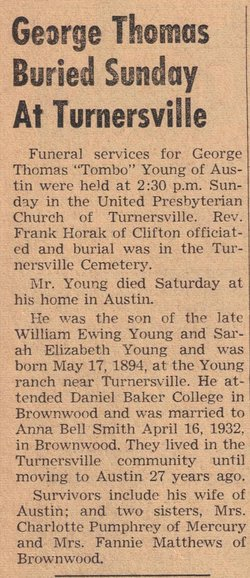 George Thomas Tom Young