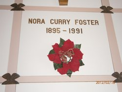 Nora <i>Curry</i> Foster