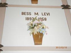 Bessie May <i>Newman</i> Levi