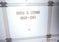 Dora B Lyons