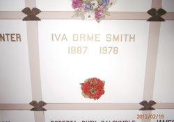 Iva <i>Orme</i> Smith