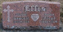 Grace V <i>Peterson</i> Ellis